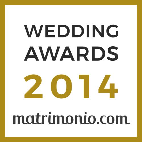 Vincitore Wedding Awards 2014 matrimonio.com