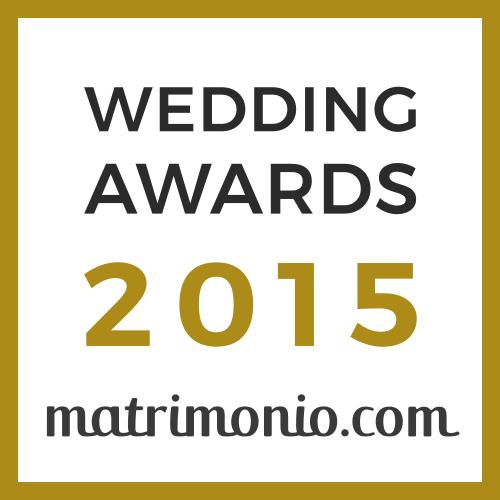 Vincitore Wedding Awards 2015 matrimonio.com