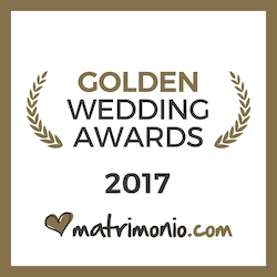 Vincitore Golden Awards 2017 Matrimonio.com