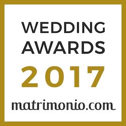 Vincitore Wedding Awards 2017 matrimonio.com